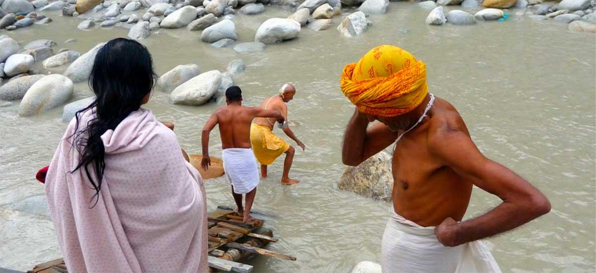 Pellegrinaggio Sorgenti Gange