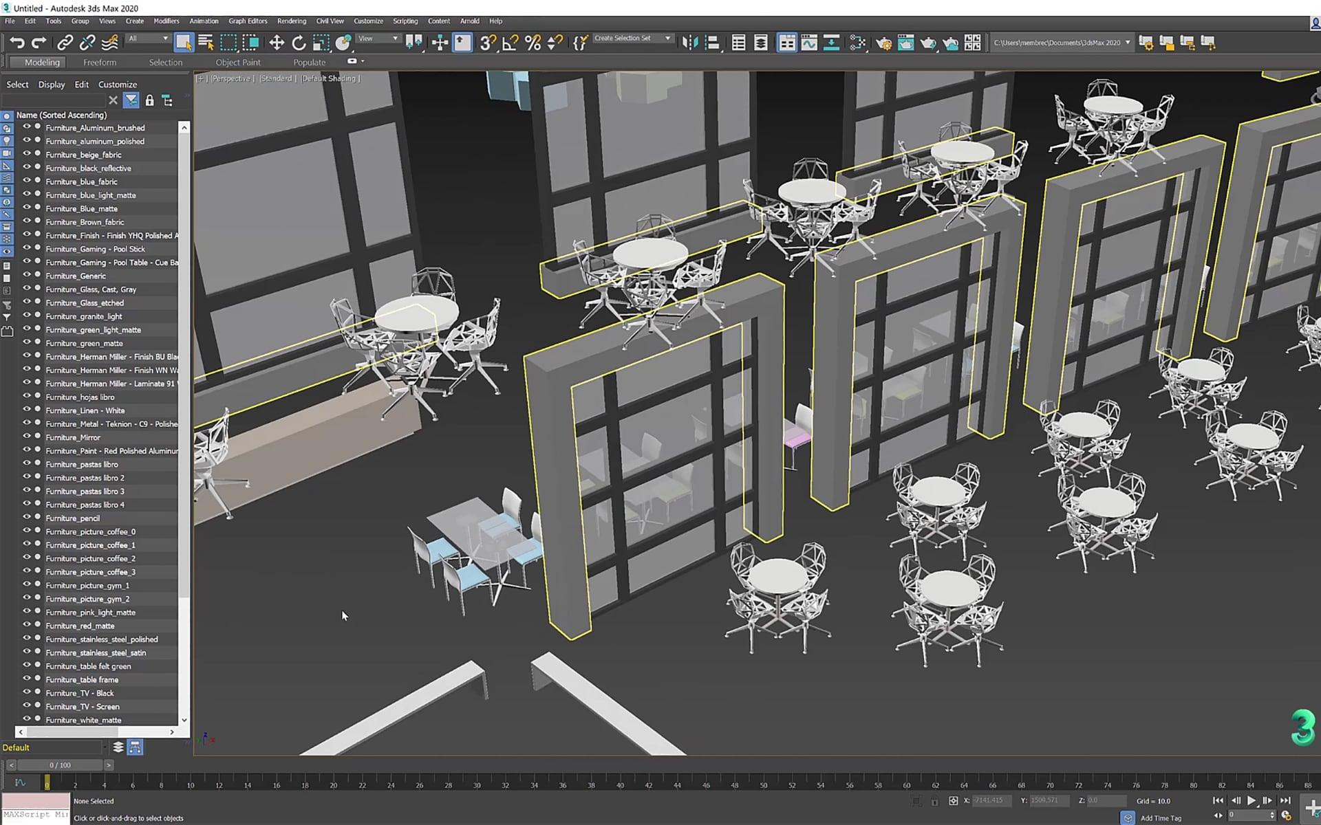 3ds Max 2020 Per Architetti E Designer   02 1