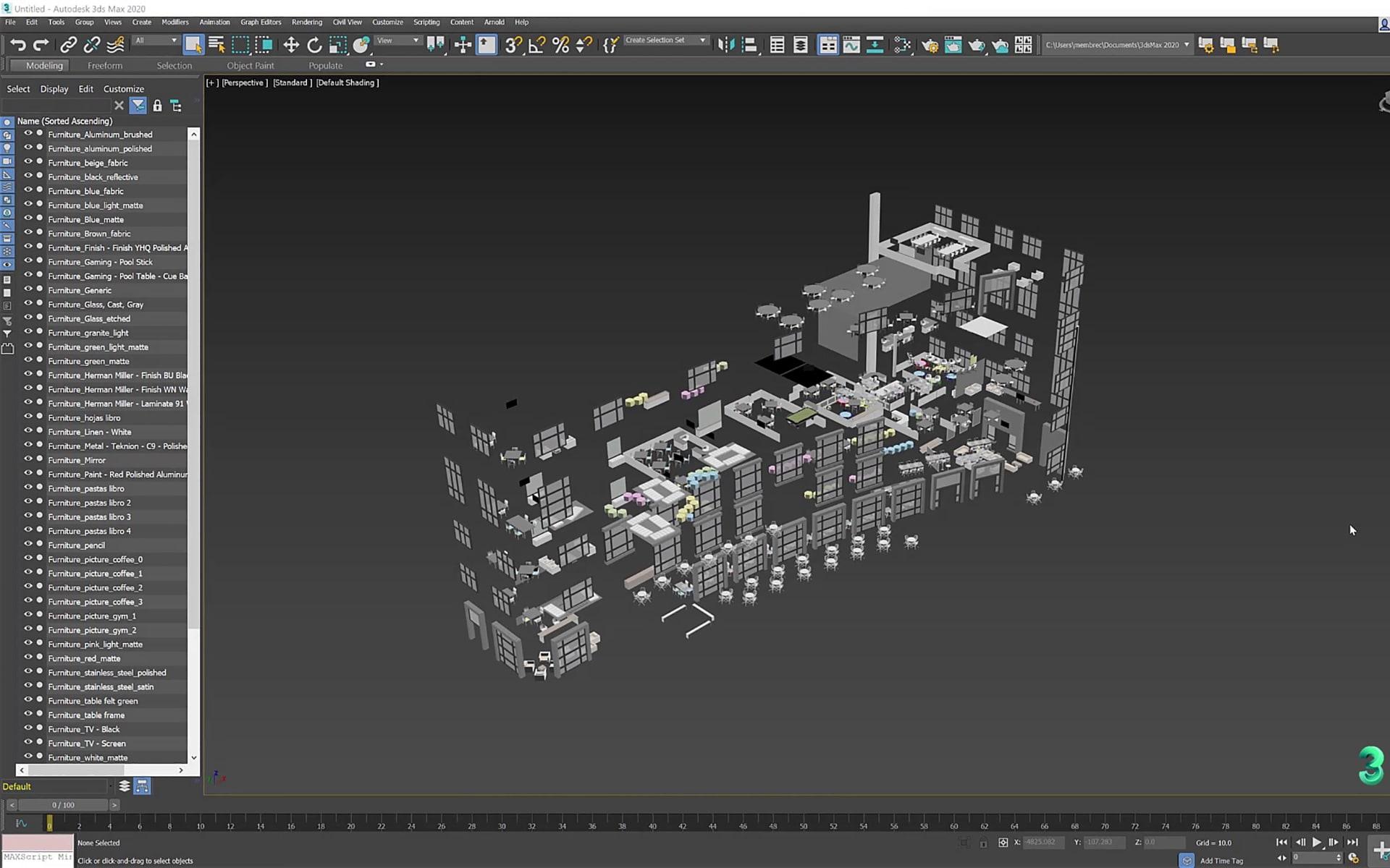 3ds Max 2020 Per Architetti E Designer   04 1