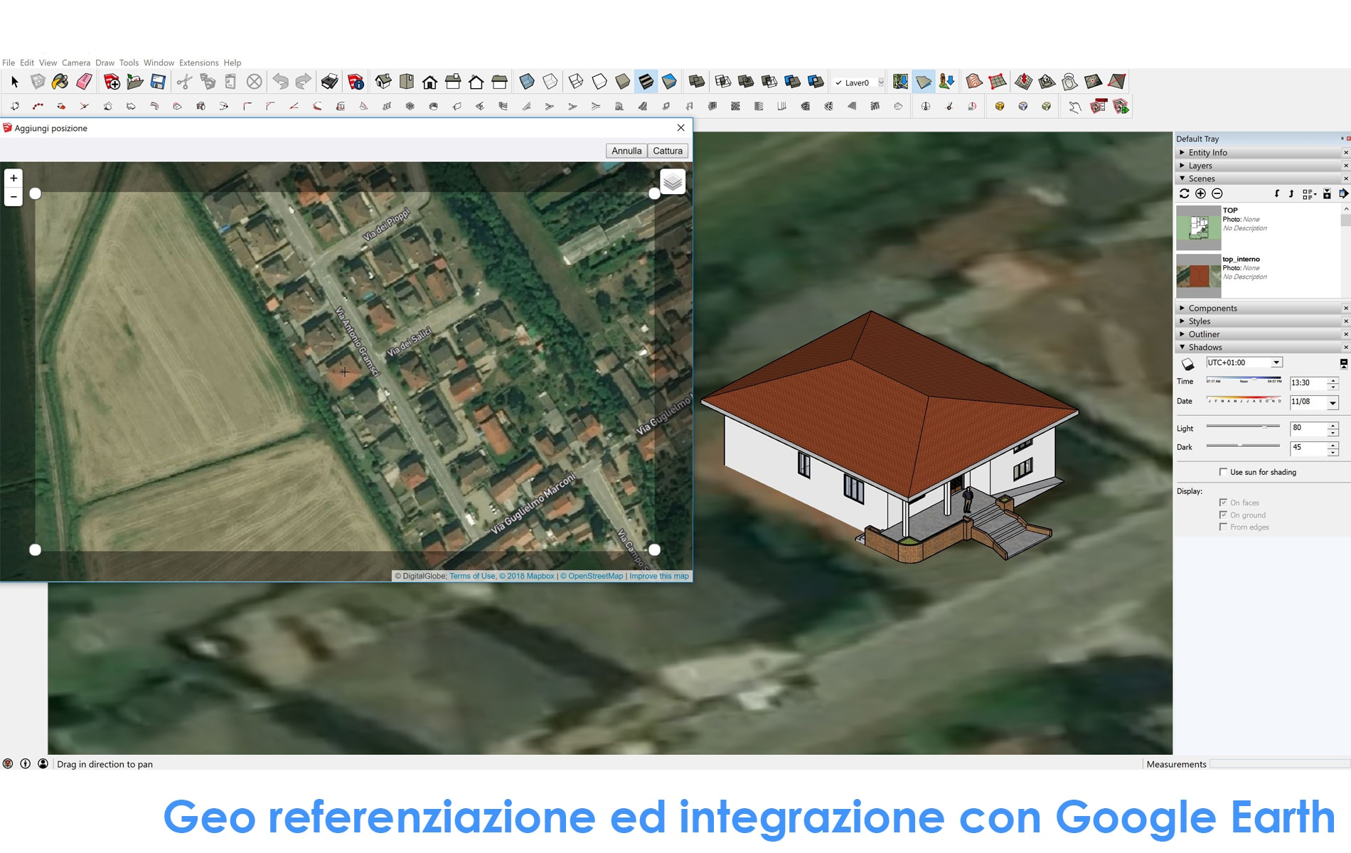 Il BIM di Autodesk Revit e Trimble SketchUp | 4m group